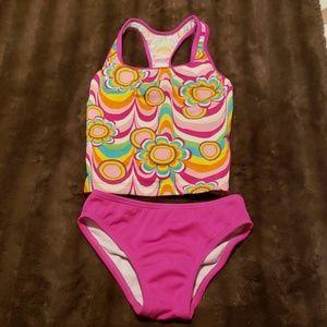 Girls Speedo Two Piece Swim Suit